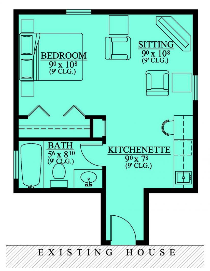 House Plans for Additions Fresh Mother In Law Suite Addition House Plans Floor