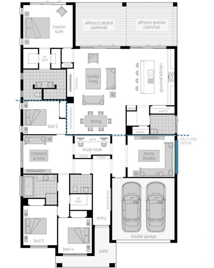 House Plans for Single Story Homes 2021