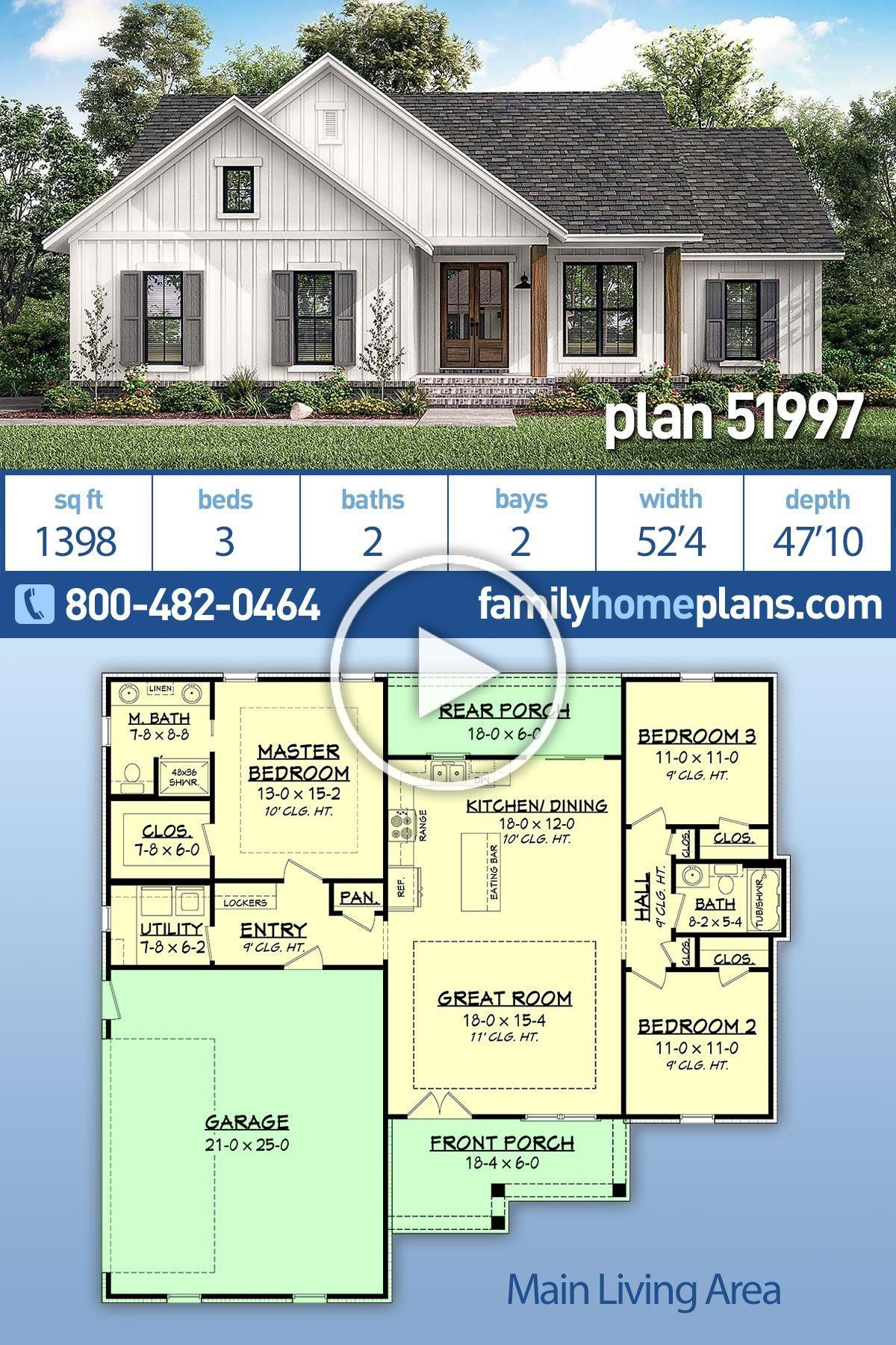 House Plans for Small Country Homes New Small Country Home Plan with Just Under 1400 Sq Ft This 3