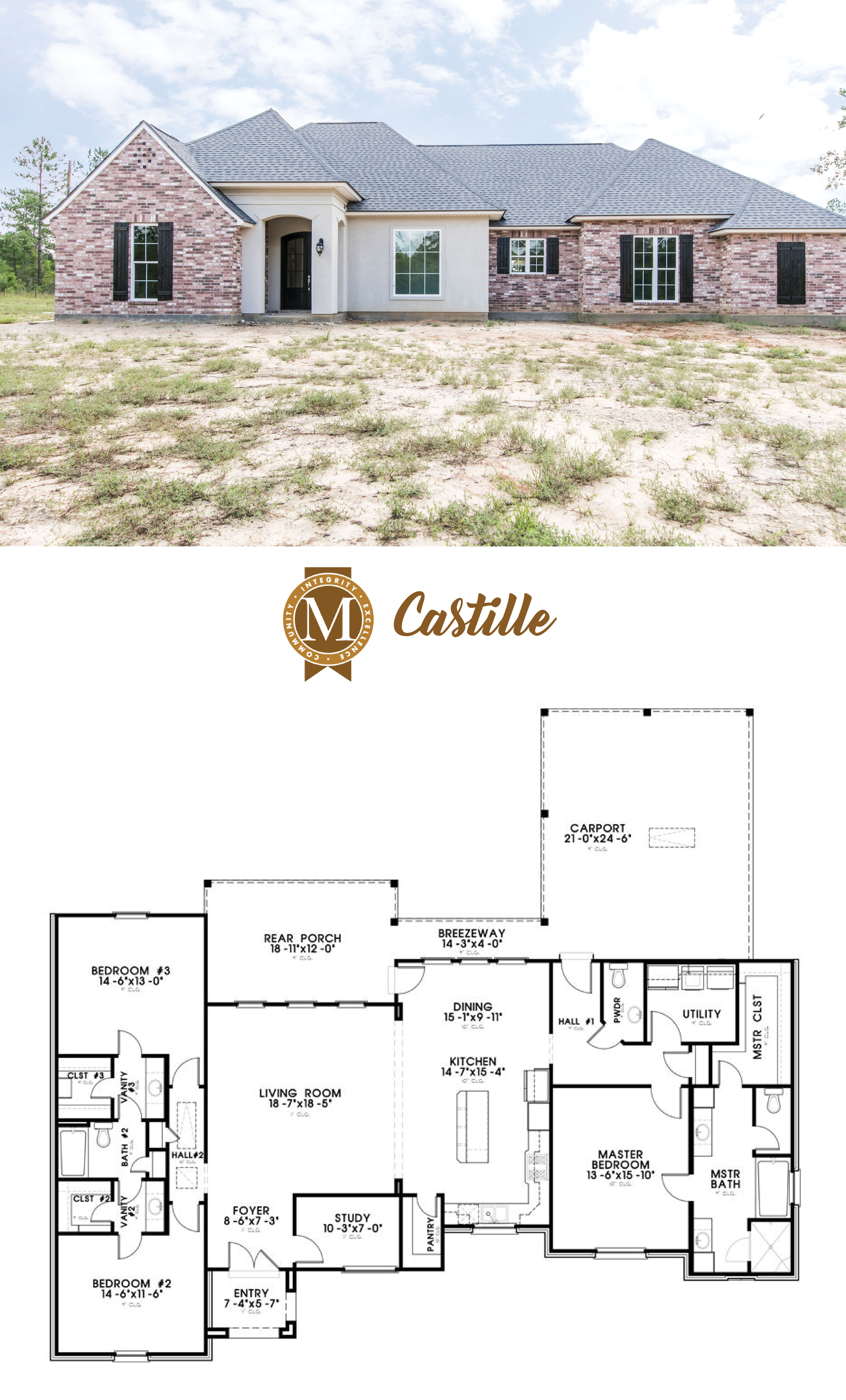 House Plans In Baton Rouge Luxury Plan Castille Living Square Feet 2526 Bedrooms 4