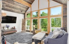 House Plans Post And Beam Fresh The Interior Of The Lynden Model Features Stunning Post And