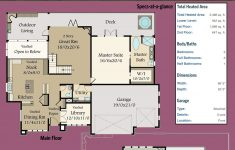 House Plans With Suites Lovely Plan Ms Smash Hit Modern House Plan With Two Master