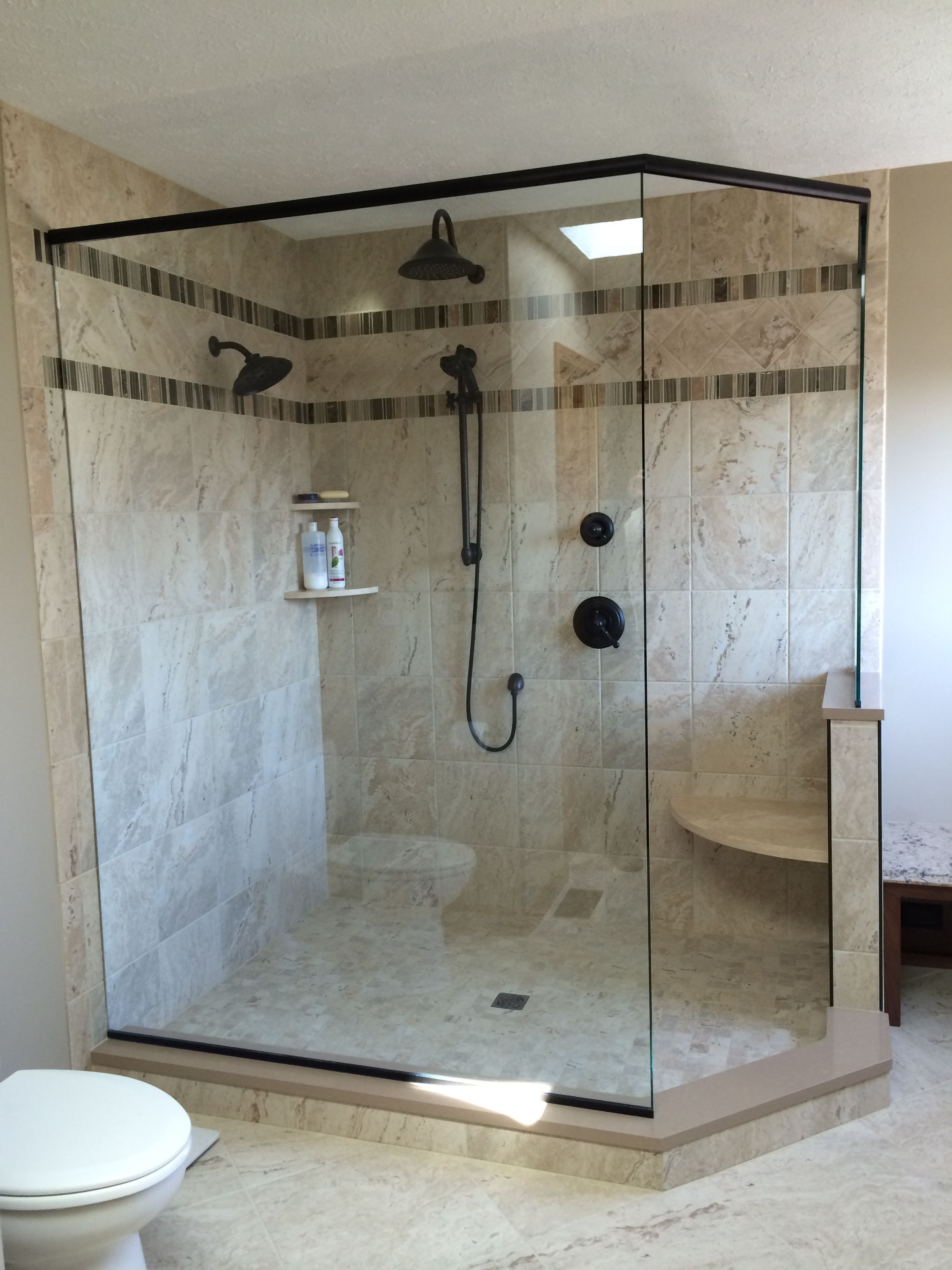 How to Create A Walk In Shower Elegant I Love My Walk In Shower We Removed A Big Garden Tub From