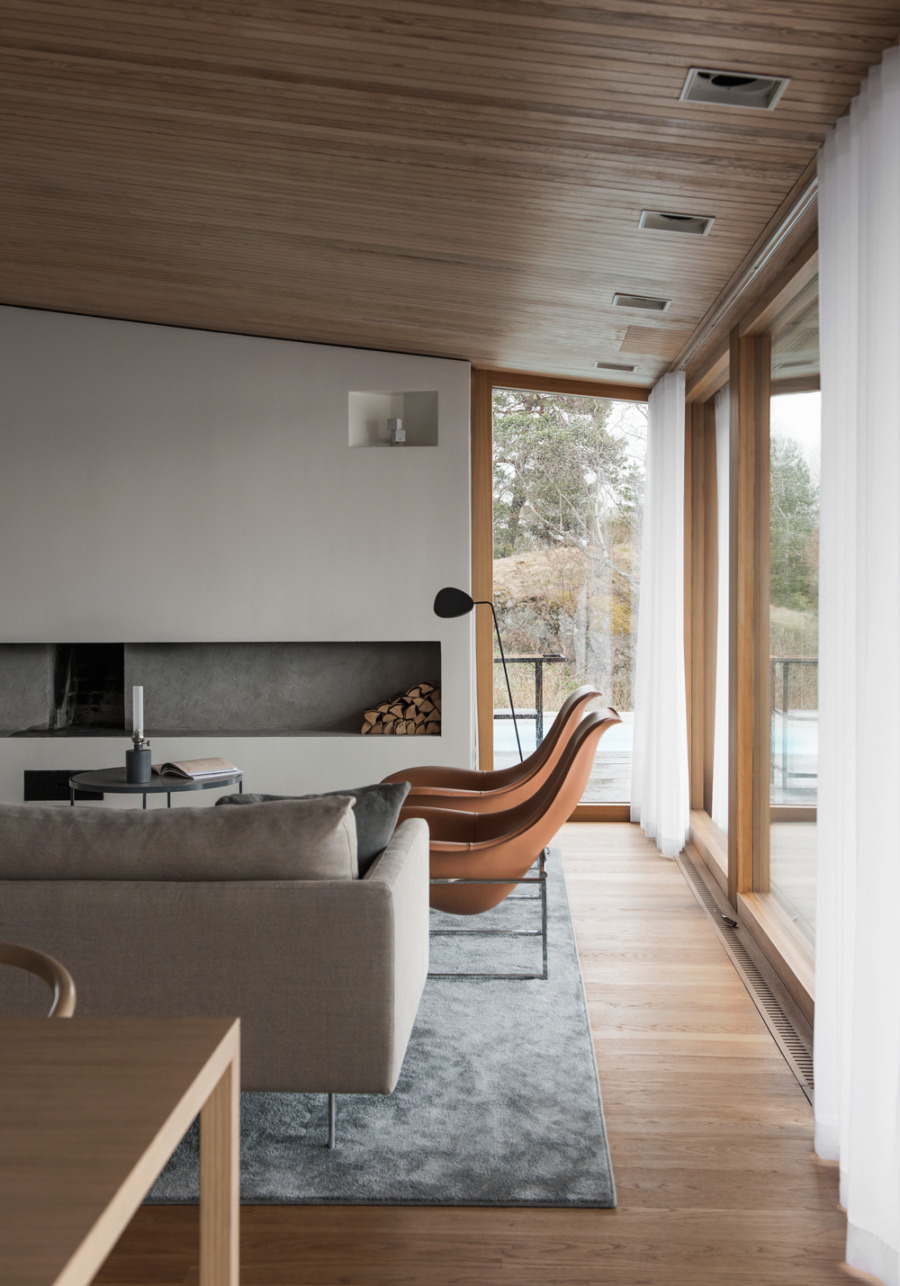 outdated 1960s swedish villa transformed spacious elegant luxurious residence