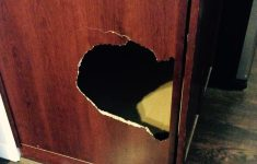 How To Fix A Cabinet Door Fresh Suggestions For How To Fix Large Hole In Laminate Cabinet
