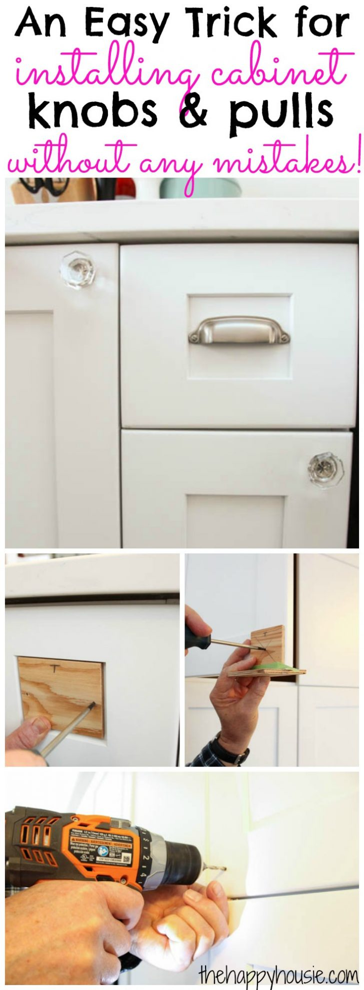 How to Install Cabinet Doors 2020