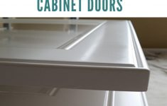 How To Paint Cabinet Doors Without Brush Marks Beautiful How To Get A Super Smooth Finish Painting Cabinet Doors