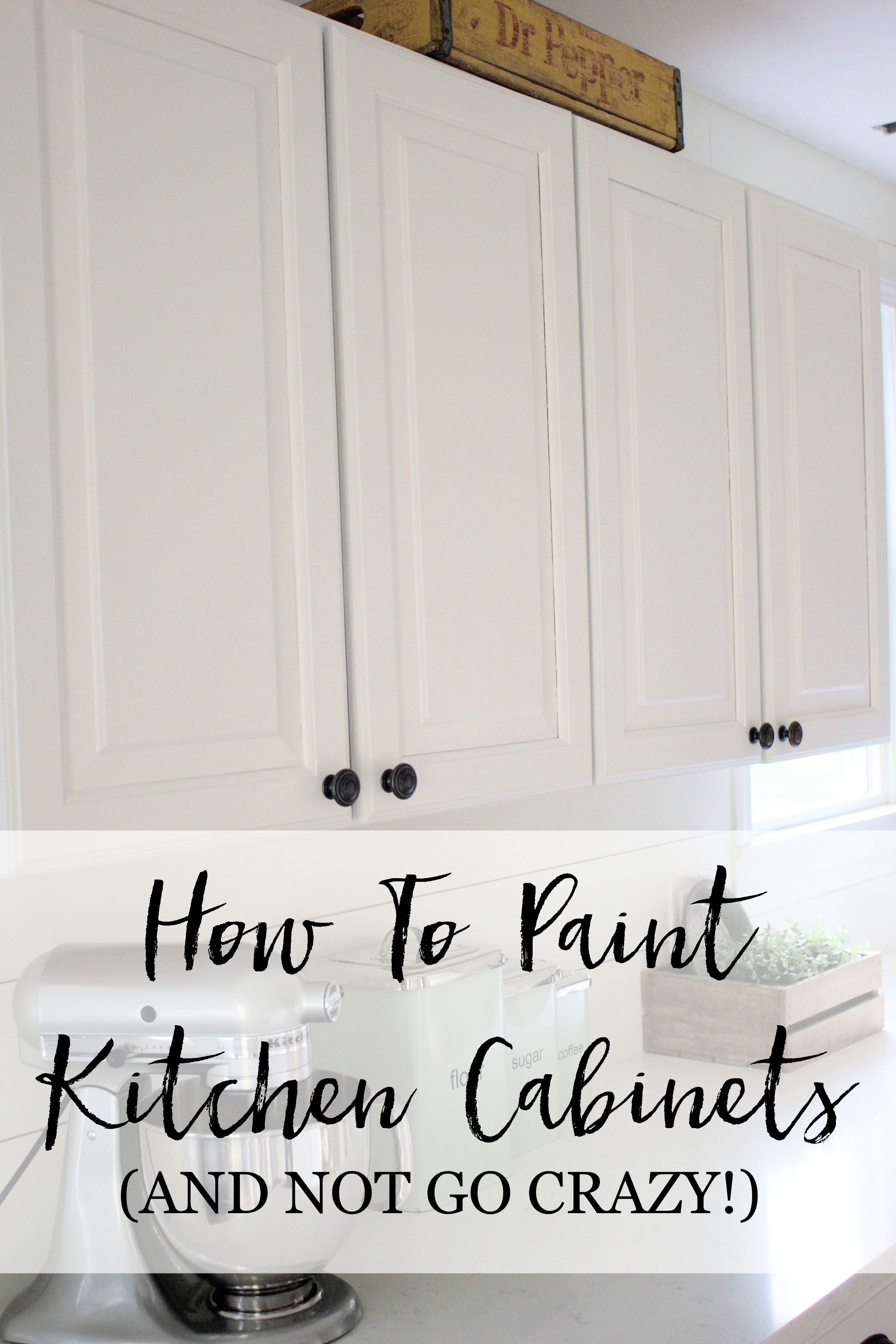 How to Paint Cabinet Doors without Brush Marks Elegant Home How to Paint Kitchen Cabinets Lauren Mcbride