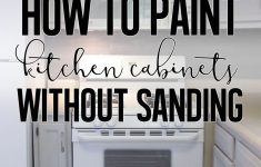 How To Paint Cabinet Doors Without Brush Marks Elegant How To Paint Cabinets Without Sanding