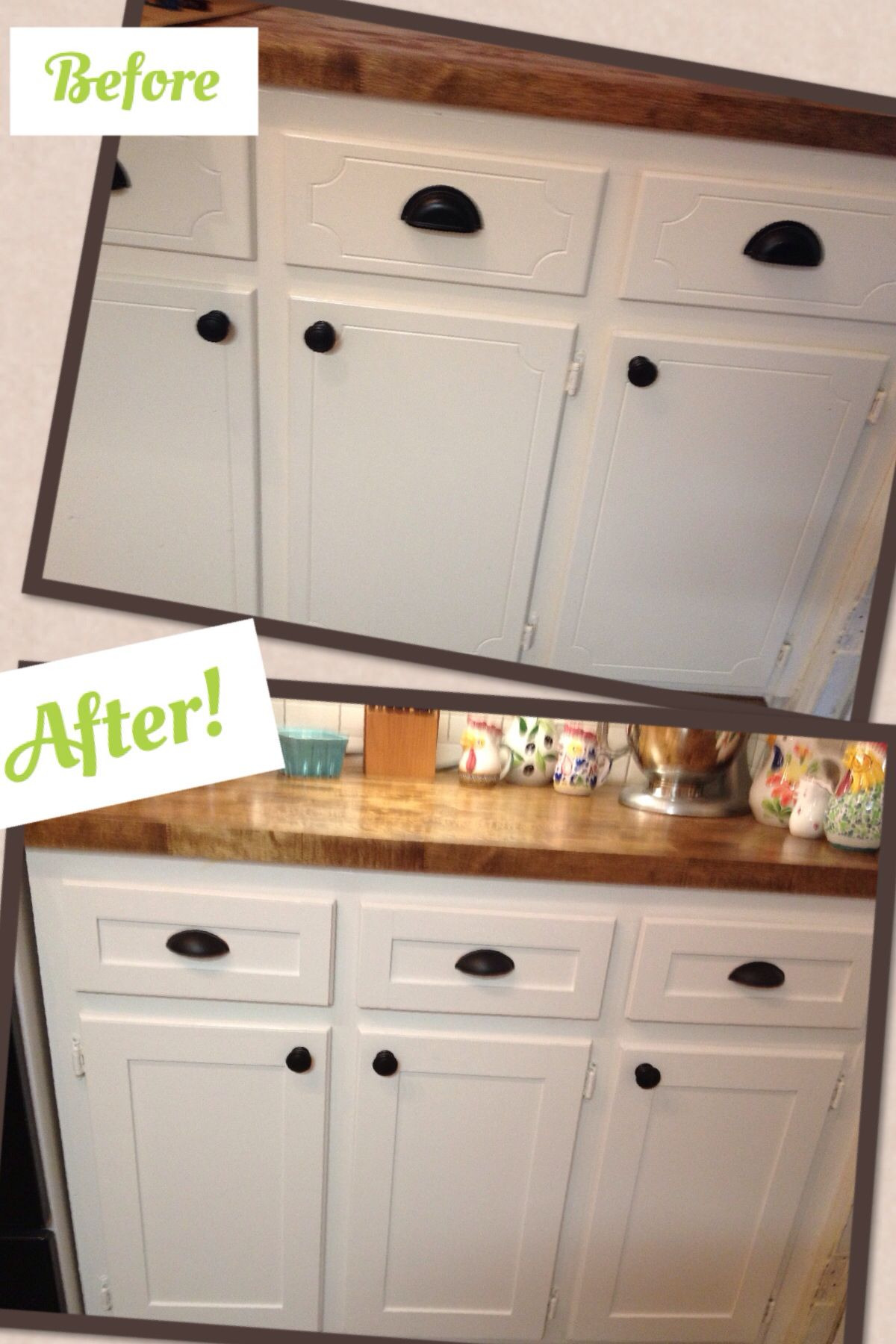 How to Replace Cabinet Doors Awesome Kitchen Cabinet Refacing Project Diy Shaker Trim Done
