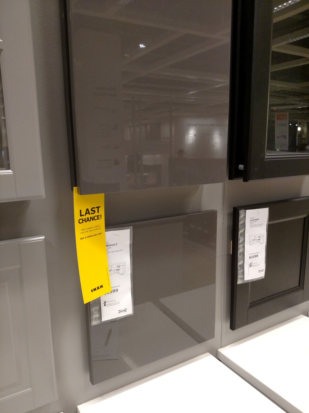 ikea ringhult grey discontinued