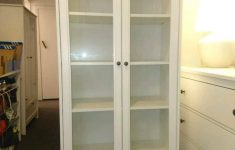 Ikea Cabinet With Doors Elegant Ikea Smadal Cabinet With Glass Doors Rare In Southside Glasgow