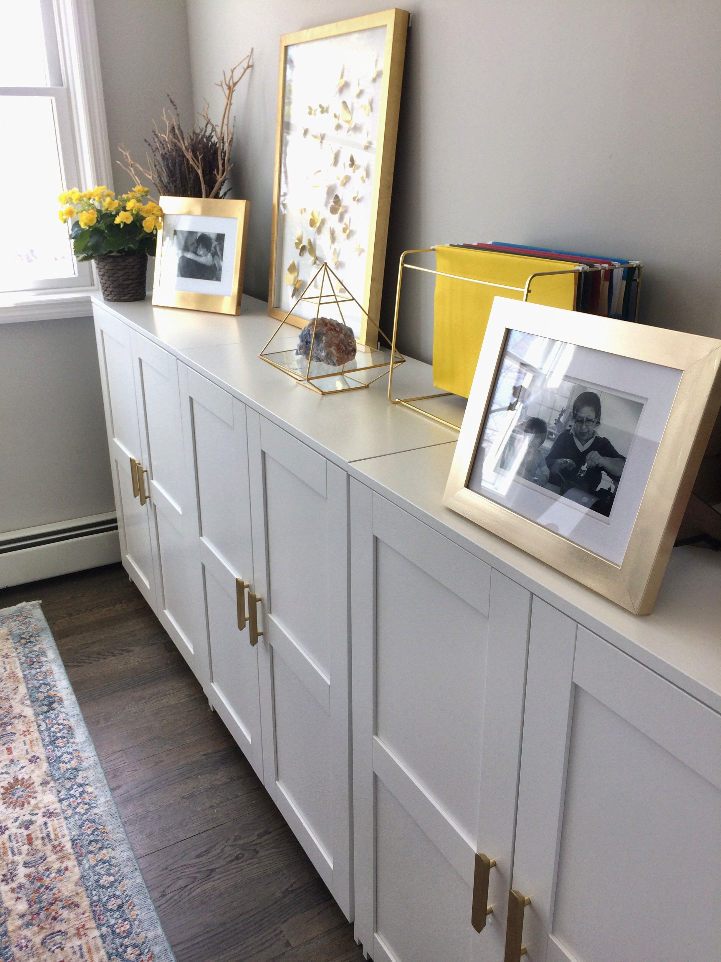 Ikea Cabinet with Doors Inspirational Chic and Inspiring with Ikea Brimnes Gold Pull Cabinets