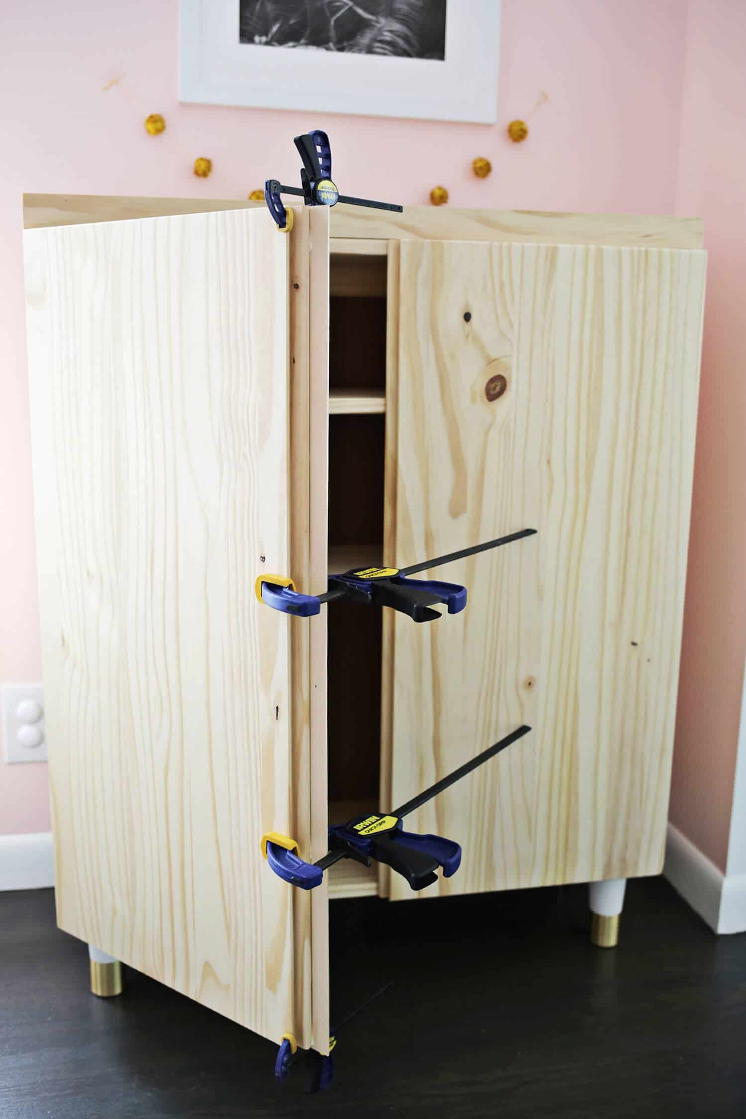 Ikea Cabinet with Doors New Ikea Ivar Cabinet Hack Turned Into A Bar Cabinet A