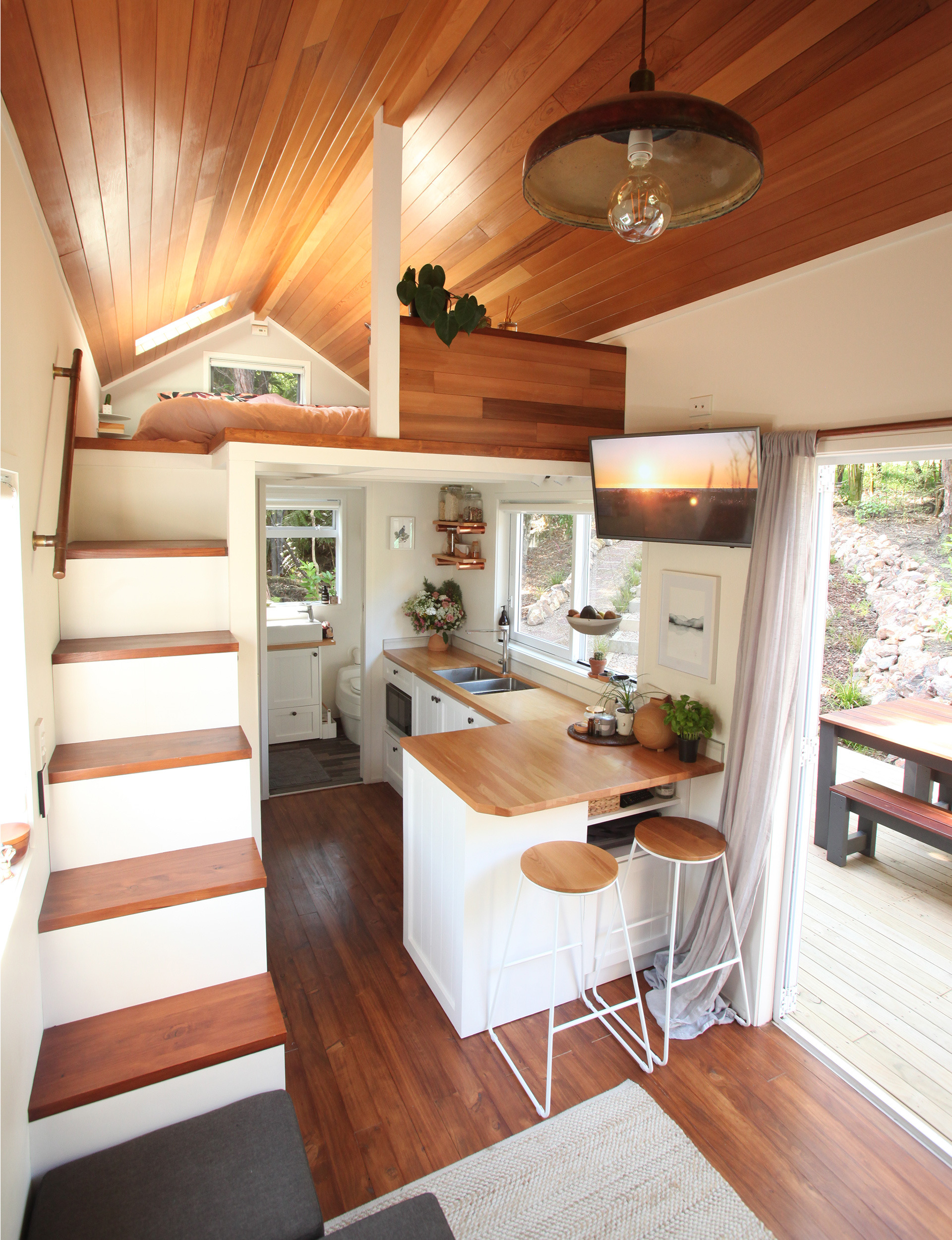 Inside Beautiful Homes Pictures Luxury Inside A Tiny Home On Waiheke where Modern Design Meets