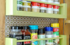 Inside Cabinet Door Spice Rack Elegant Diy Wood Spice Rack Jenna Burger Design Llc