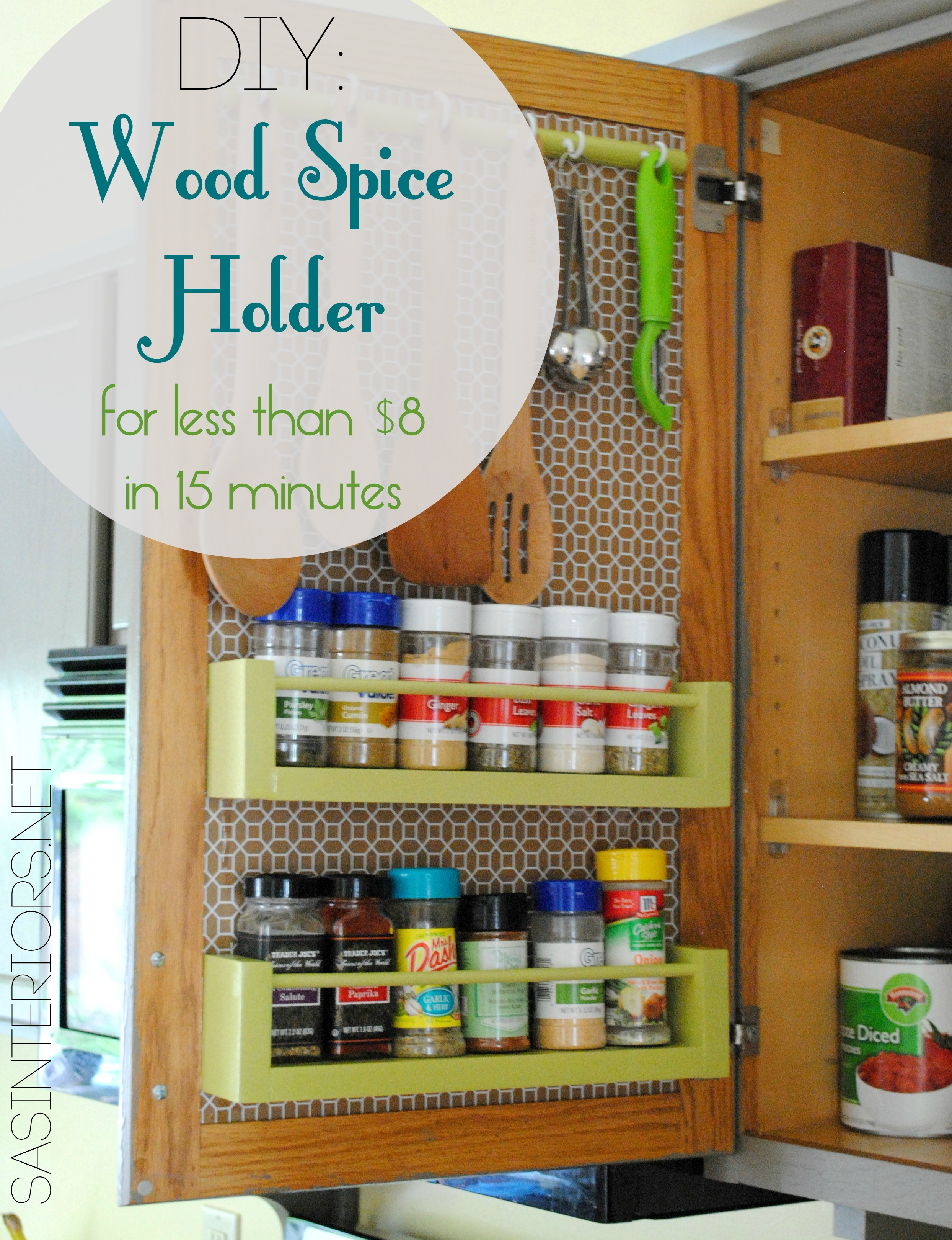 Spice Rack Cover