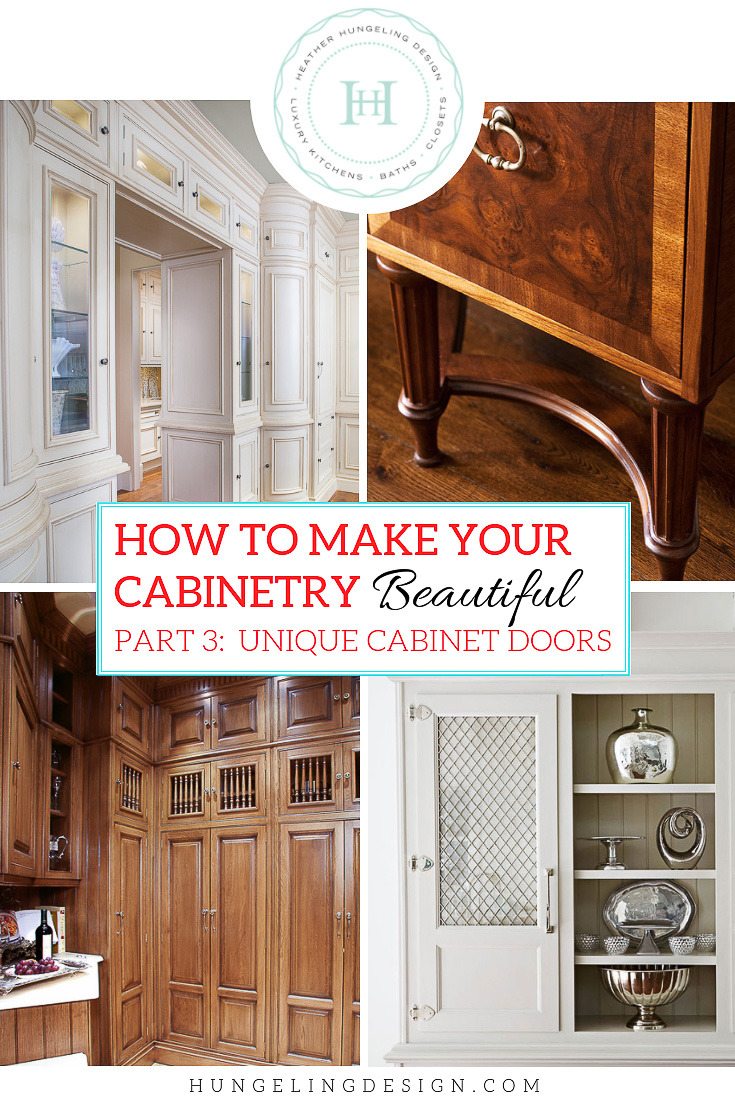 how to make your kitchen beautiful with unique cabinet door details