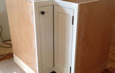 Lazy Susan Cabinet Door Hinges Beautiful Corner Cabinet With Inset Door And Piano Hinge