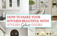 Leaded Glass Cabinet Doors Awesome How To Make Your Kitchen Beautiful With Glass Cabinet Doors
