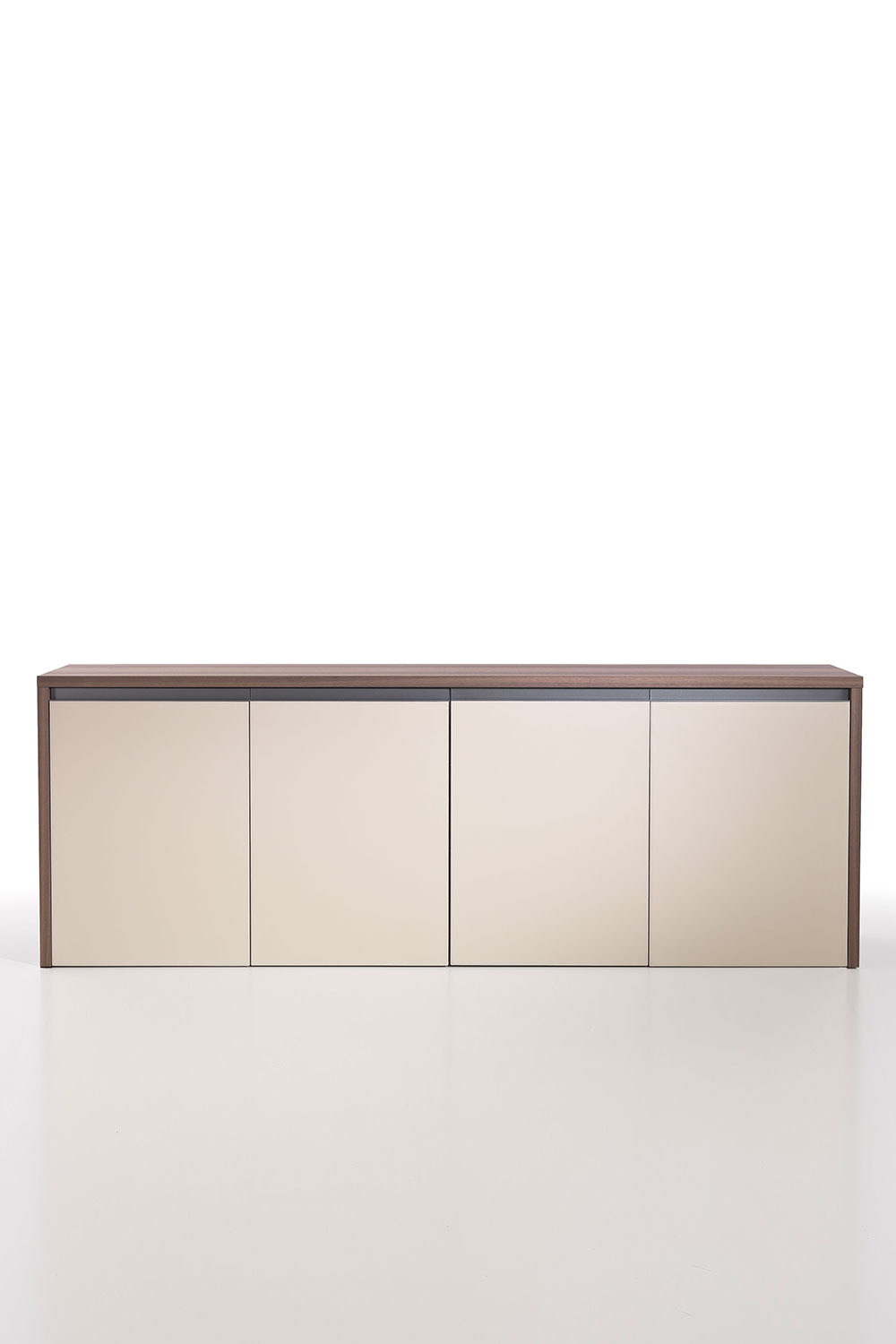 Low Cabinet with Doors Lovely Kefa 4 Doors Low Cabinet In Eucalyptus and Saddle Leather