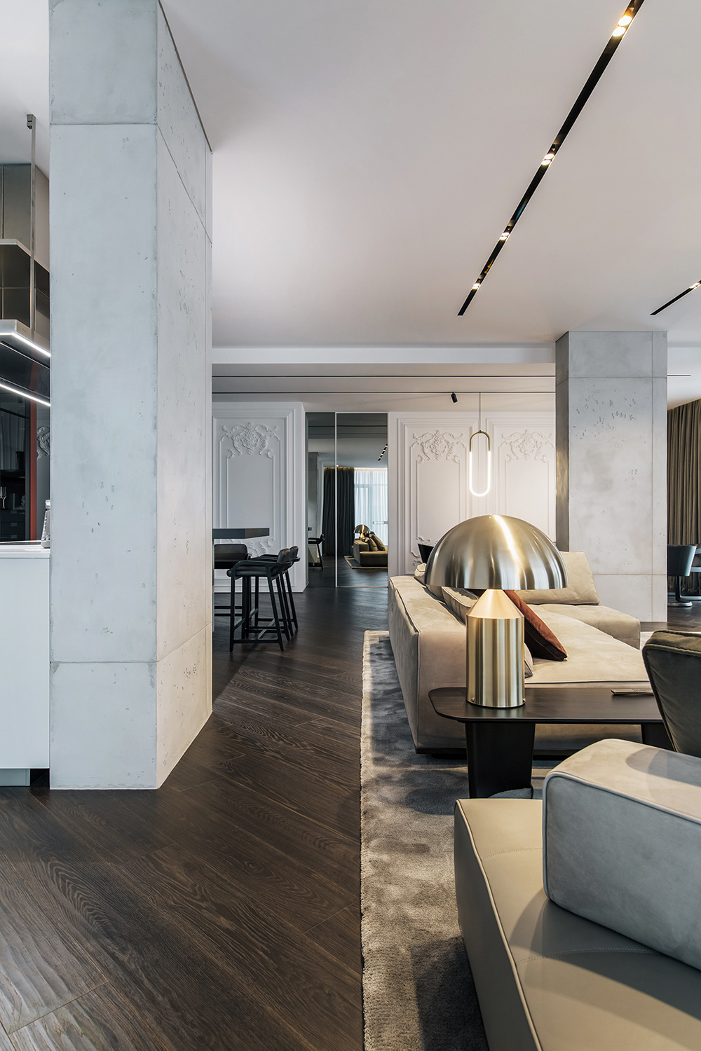 Luxury Apartment Design Interiors Best Of Luxury Apartment with A sophisticated and Dramatic Interior