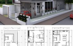 Luxury House Design Plans Elegant House Plans 8x18m With 4 Bedrooms In 2020