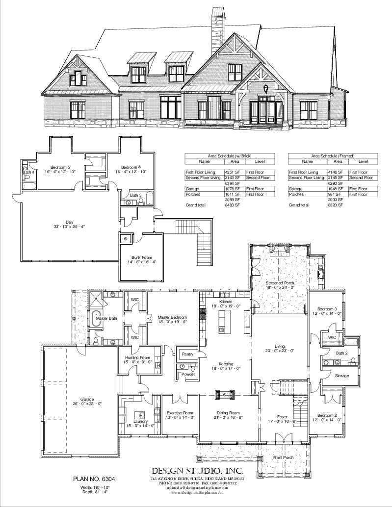 Luxury House Plans with Basements Awesome Plan 6304 Design Studio