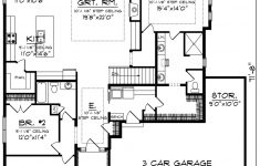 Luxury House Plans With Basements Inspirational Ranch Style House Plan 3 Beds 2 Baths 2005 Sq Ft Plan 70 1485