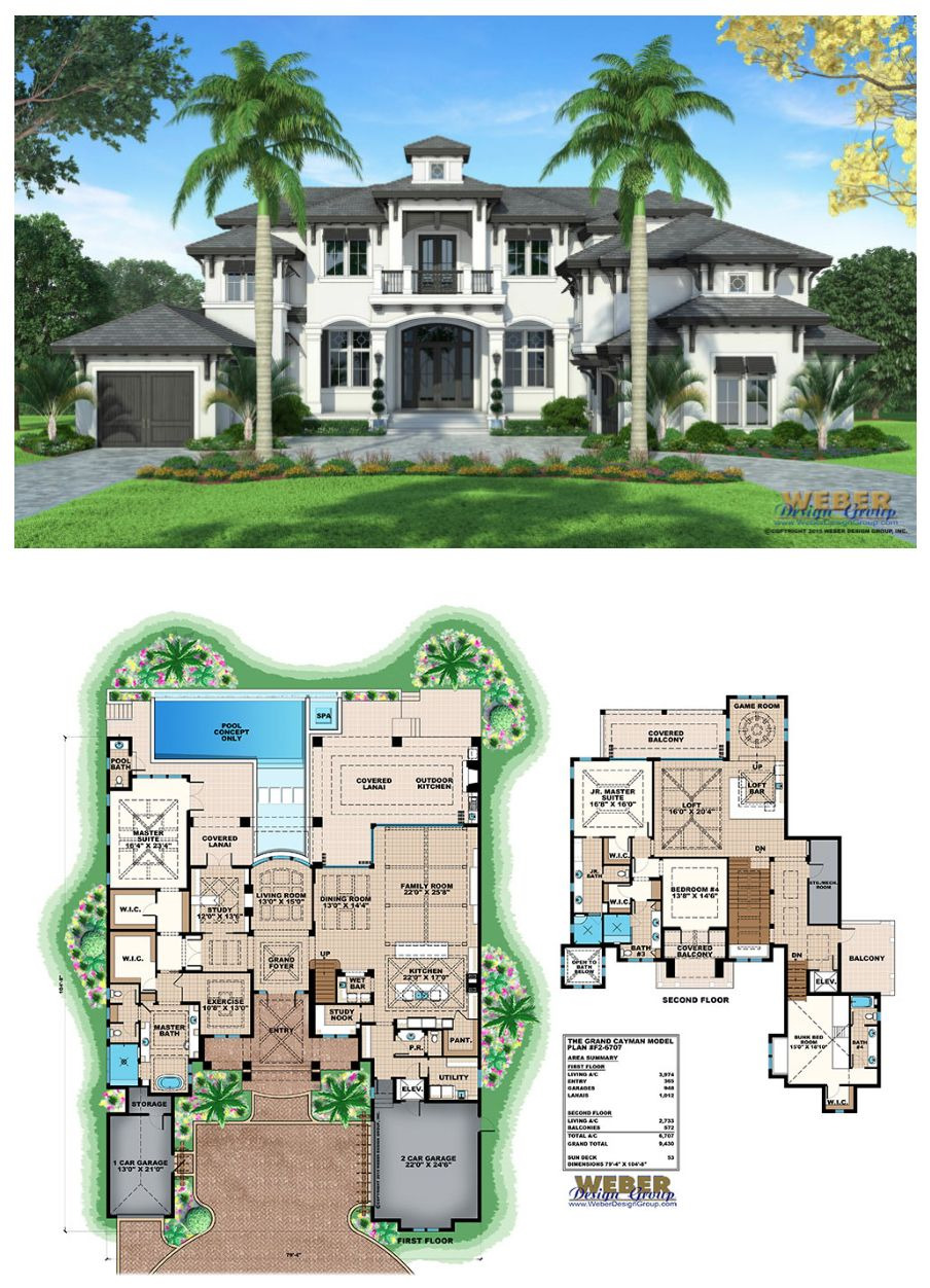 Luxury Modern Home Plans Unique Grand Cayman House Plan In 2020