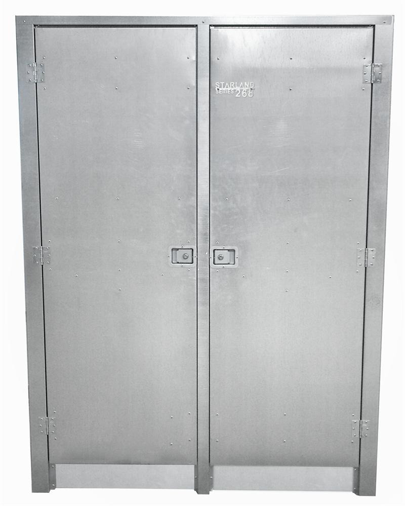 Metal Cabinet with Doors Awesome Industrial Galvanized Steel Storage Cabinet 248