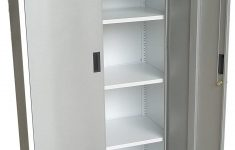 """Metal Cabinet With Doors Lovely Fedmax Metal Storage Cabinet 71"""" Tall Lockable Doors And Adjustable Shelves 70 86"""" Tall X 31 5"""" W X 15 75"""" D Great Steel Locker For Garage Kitchen"""