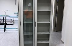 Metal Cabinet With Glass Doors Best Of Fisher Hamilton Hamilton Tall Laboratory Storage Cabinets