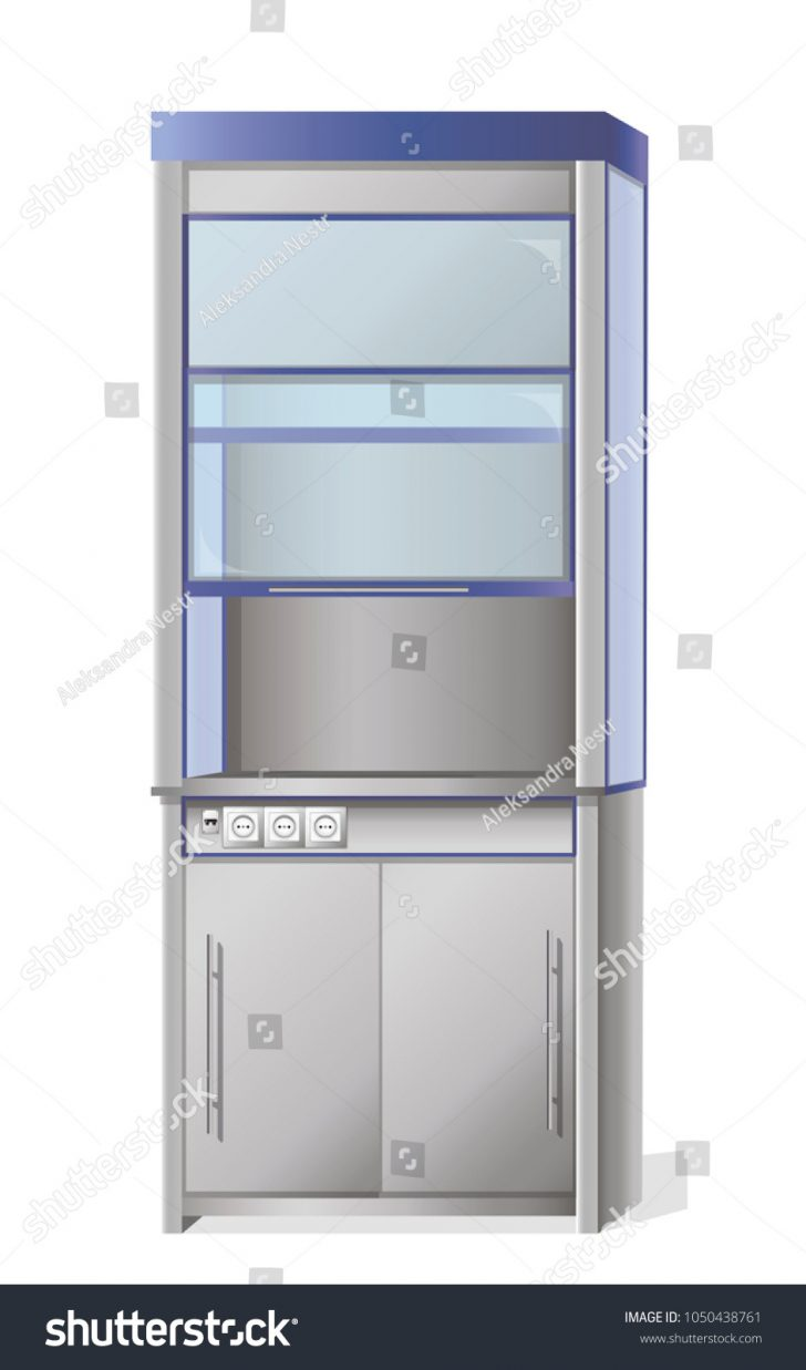 Metal Cabinet with Glass Doors 2021