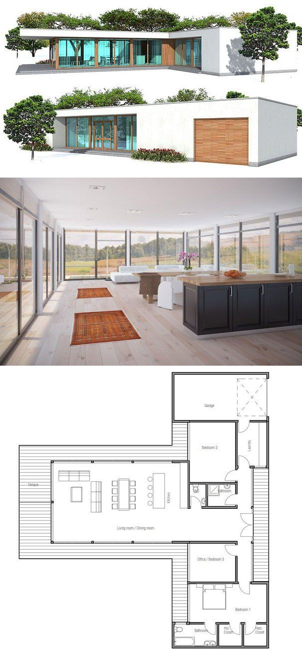 Minimalist House Designs and Floor Plans Beautiful Minimalist House Design Add Basement Add Stairs Maybe