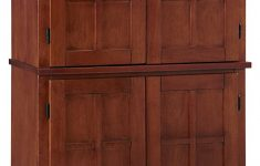 Mission Style Cabinet Doors Awesome Arts & Crafts Oak Cottage Pantry By Home Styles