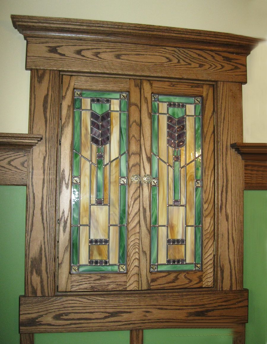 Mission Style Cabinet Doors Inspirational Mission Style Stained Glass Medicine Cabinet Doors
