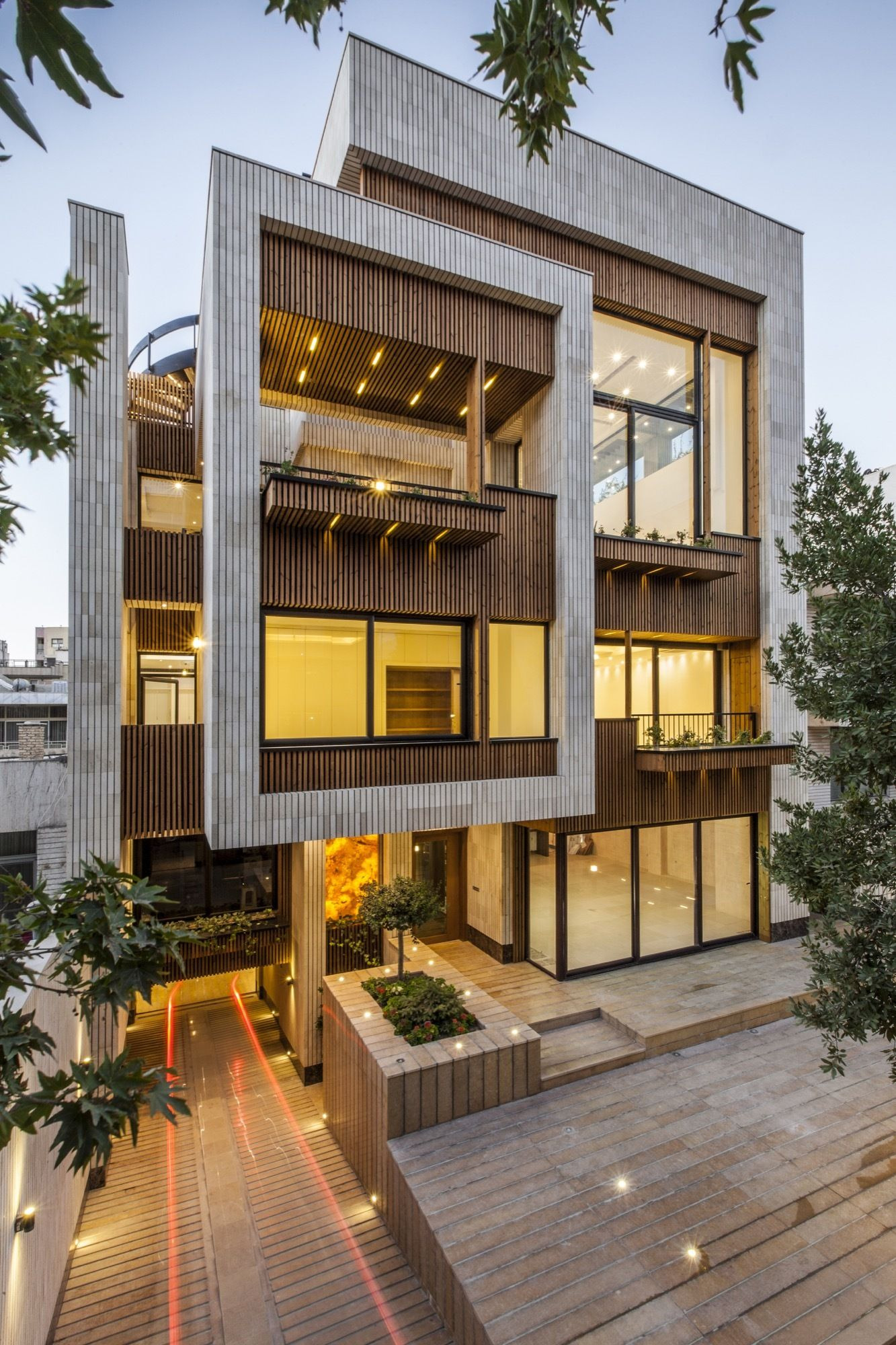 Modern Architecture Homes Pictures Beautiful Mehrabad House Sarsayeh Architectural Fice