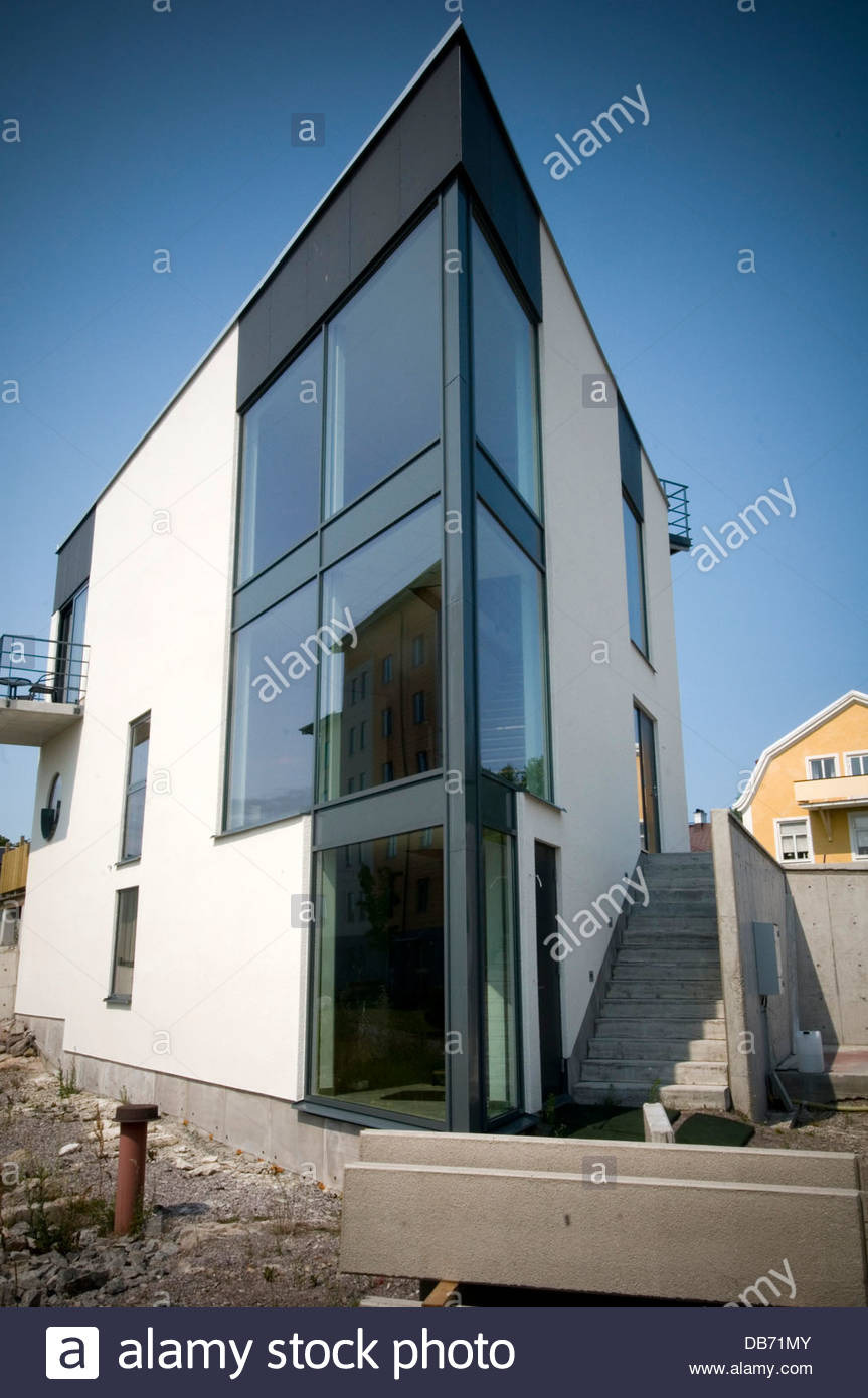 modern sweden swedish house houses home homes contemporary architecture DB71MY
