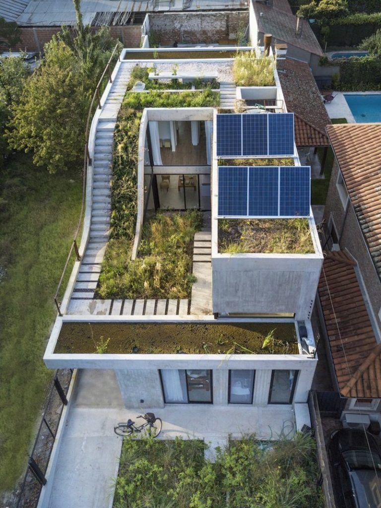Modern Eco Friendly House Plans Lovely Eco Friendly House Built Around A Vertical Garden