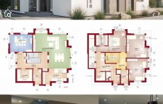 Modern House Design Concepts Elegant Two Floor House Plans Modern Contemporary European Style