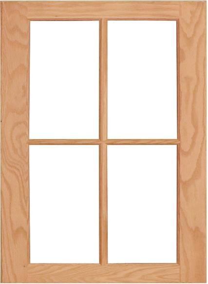 wilmington mullion cabinet door 4 lite