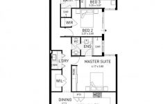 Narrow Lot House Plans One Story Elegant Beach House Single Storey Home Design Floor Plan Wa
