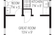 One Bedroom Guest House Plans Luxury Cottage Style House Plan 1 Beds 1 Baths 356 Sq Ft Plan
