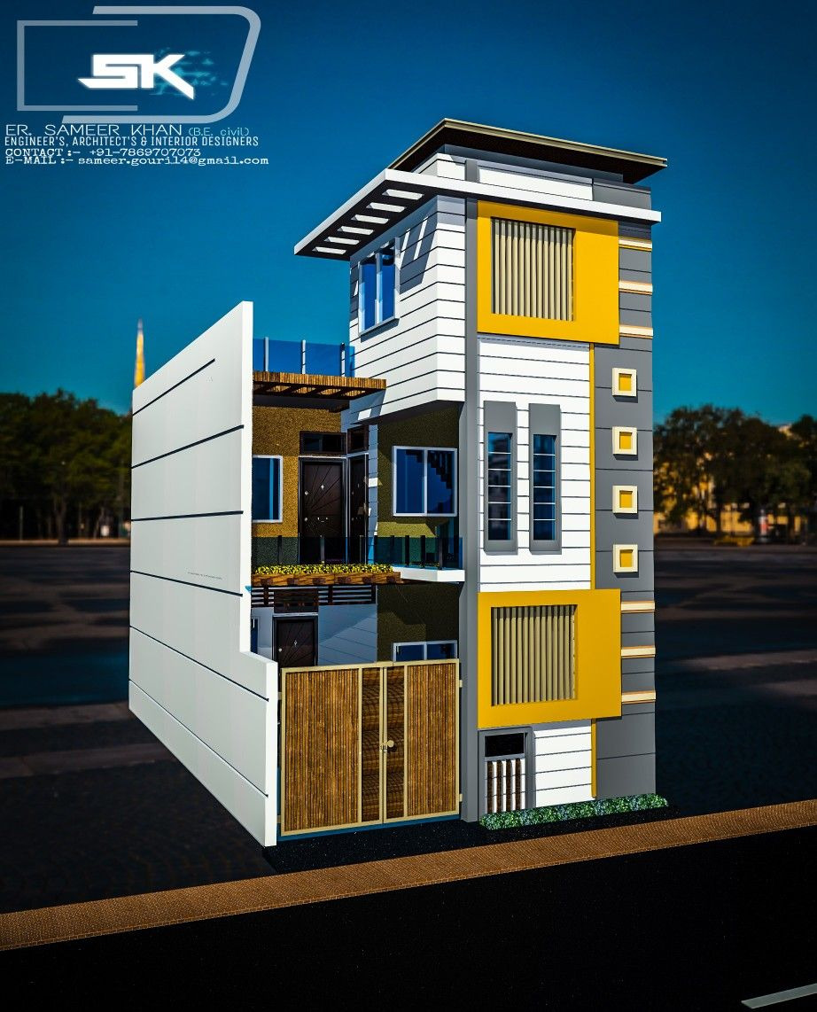 Outer Decoration Of House Fresh Introducing Modern House Exterior Elevation In 20 Front