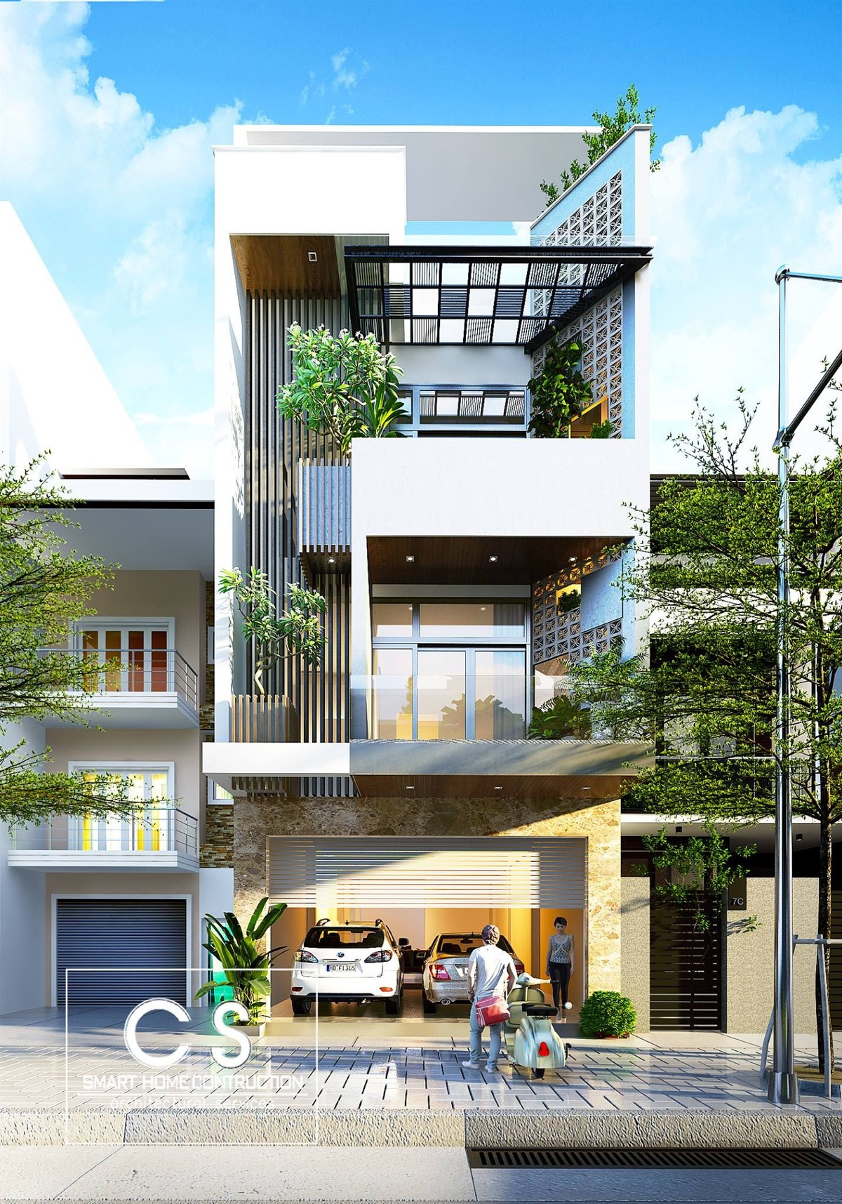 Outer Decoration Of House Inspirational 50 Narrow Lot Houses that Transform A Skinny Exterior Into