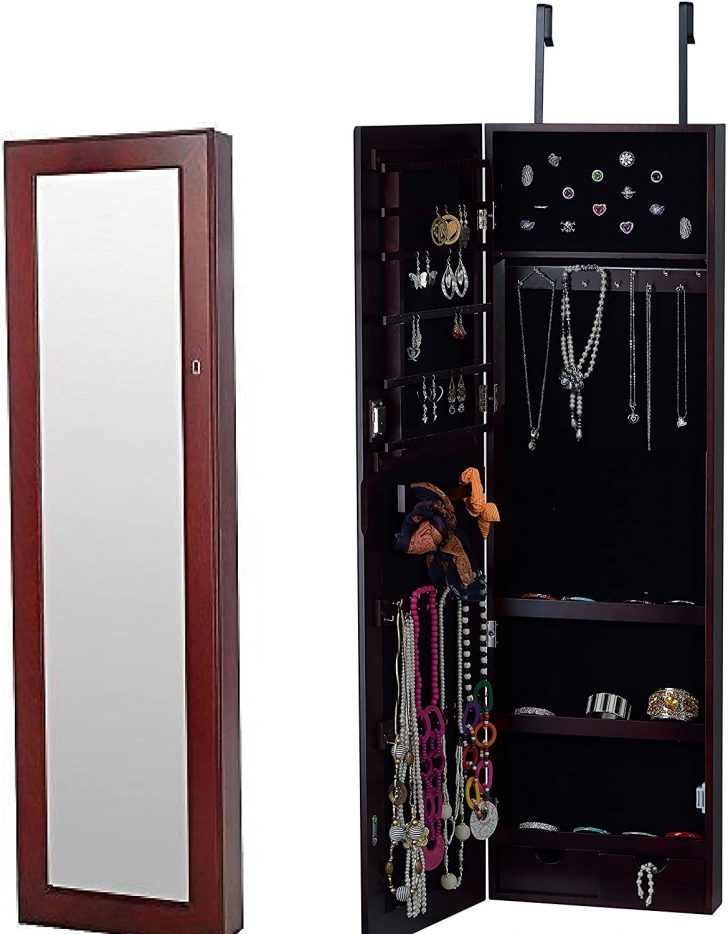 Over the Door Jewelry Cabinet 2020