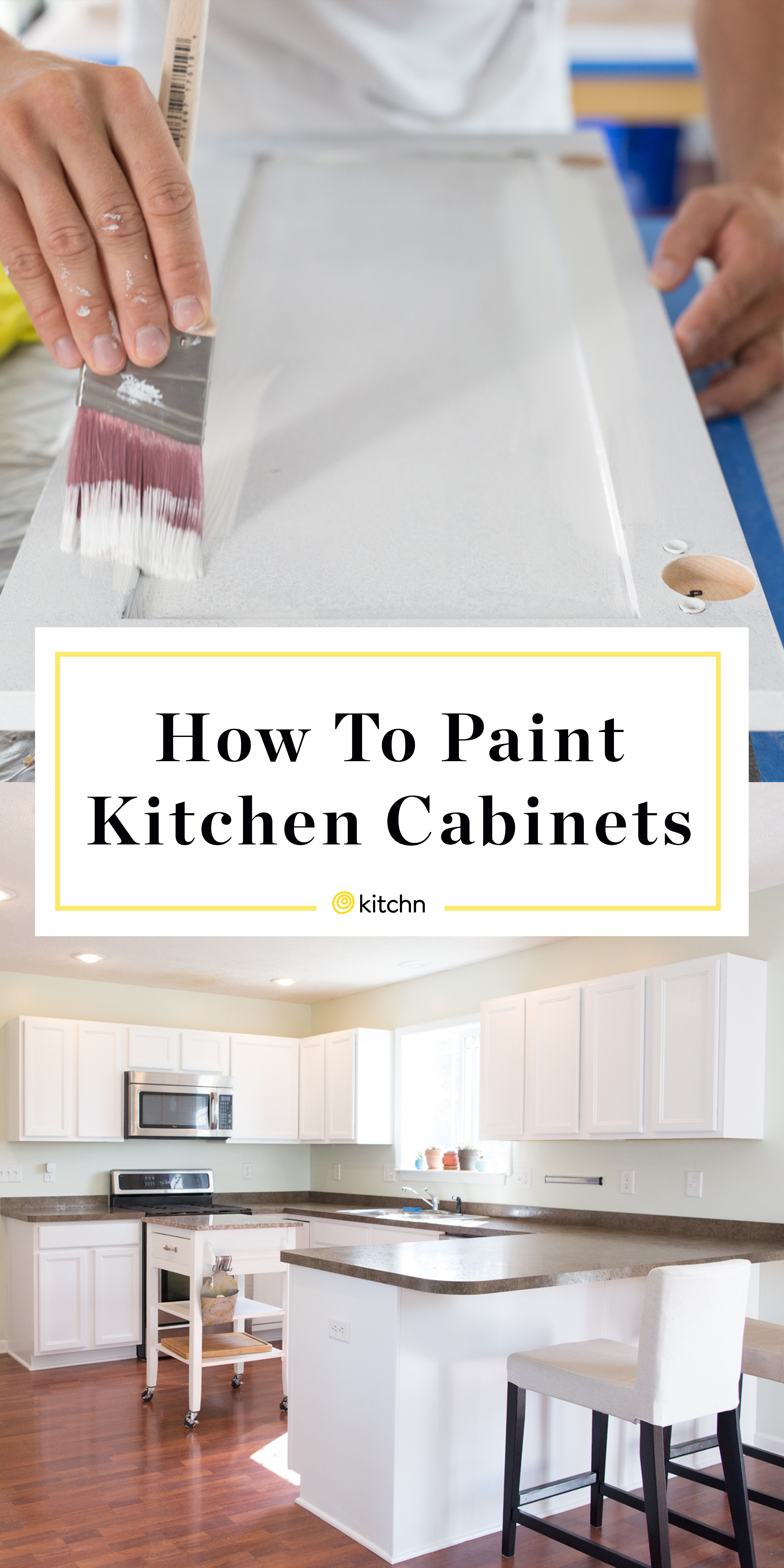 Painting Kitchen Cabinet Doors Unique How to Paint Wood Kitchen Cabinets with White Paint