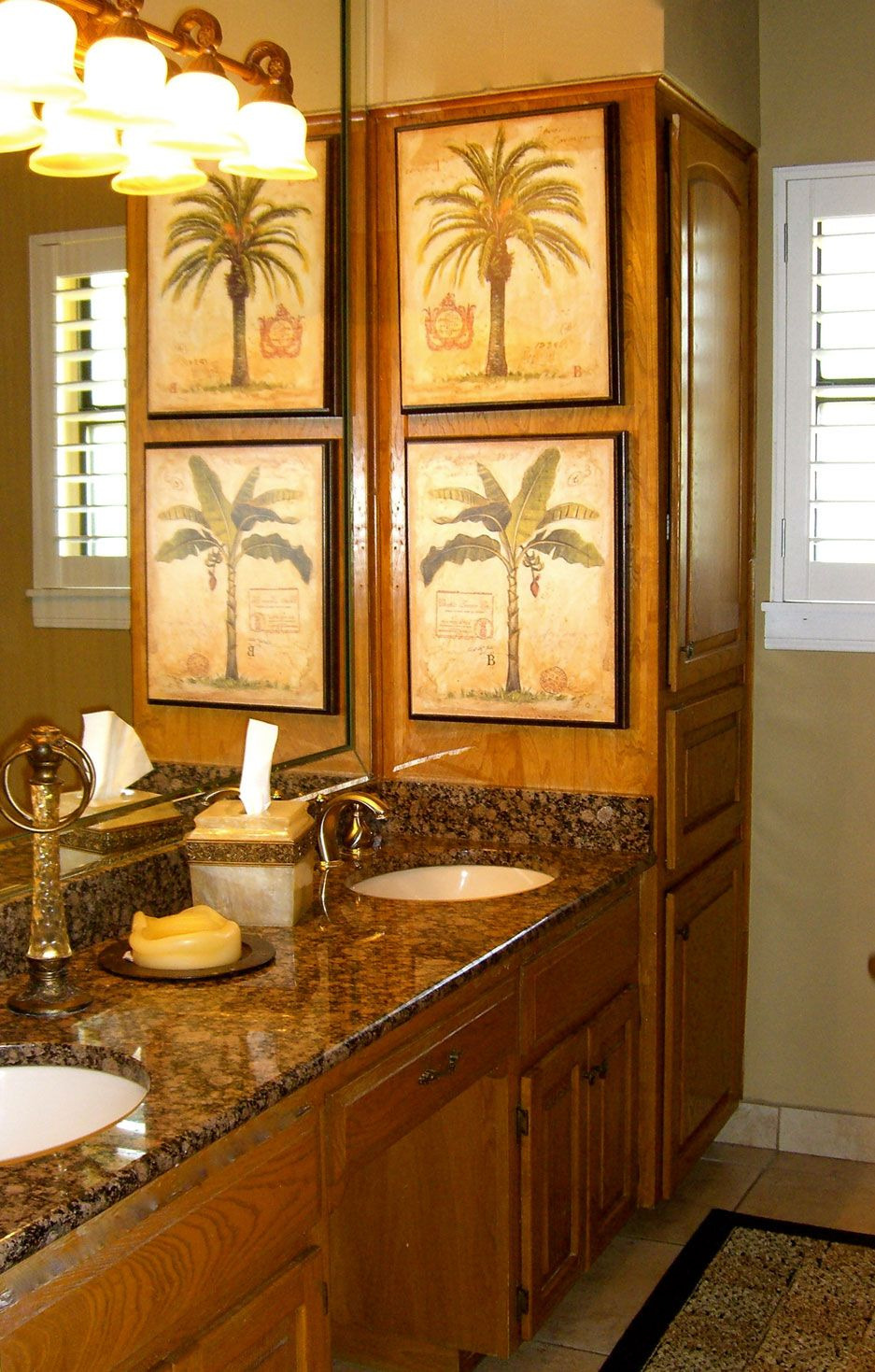 Palm Tree Bathroom Decor Awesome Mt Bathroom without the Palm Tree Pictures Perfect