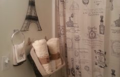 Paris Themed Bathroom Decor Lovely Paris Themed Bathroom Shower Curtains And Eiffel Tower